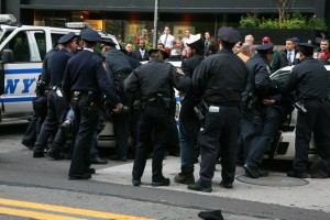 Arrested for wearing masks at OWS protest