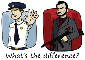 Government vs. Mafia: What's the Difference?