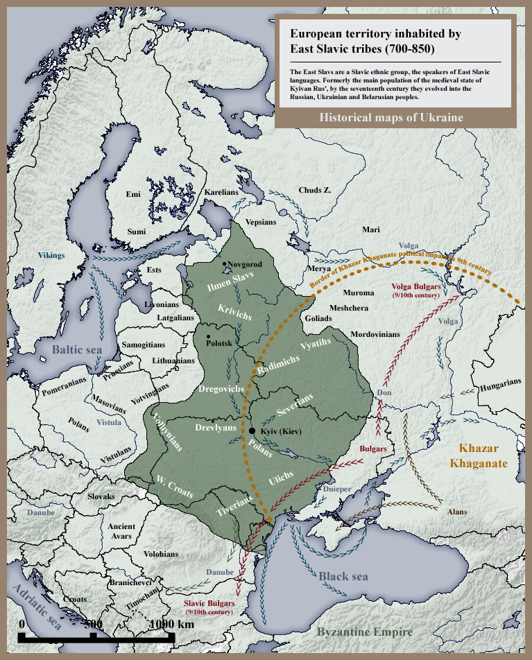 The Kievan Rus, 8th-9th Century